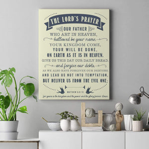 Living Words Wall Decor The Lord's prayer