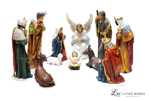 Morais Crib / Nativity Set  - 19 Inch