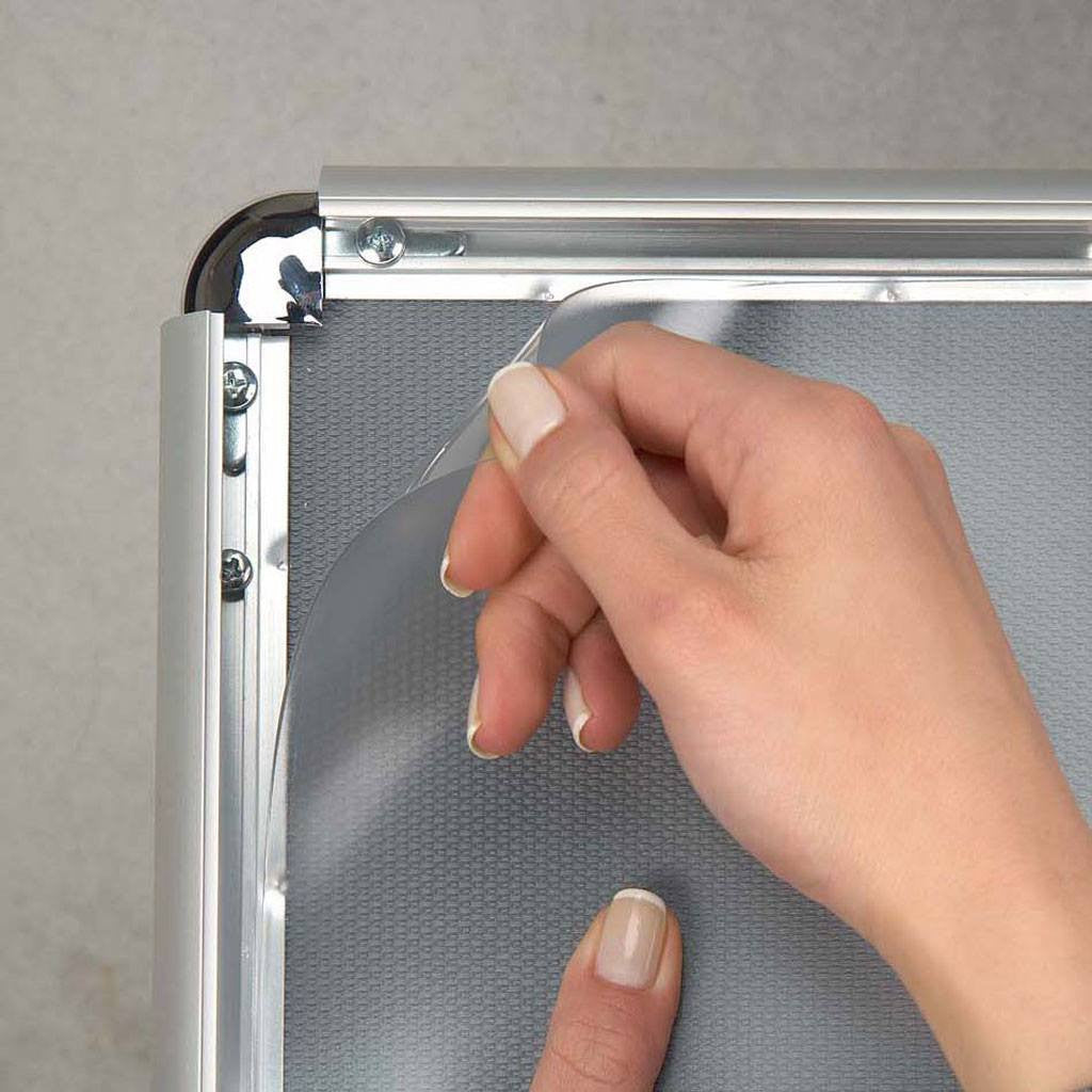 PVC - Replacement Covers for snap frames - non reflective