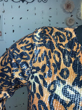 Load image into Gallery viewer, Celebrate Cheetah Sweatshirt - L and B