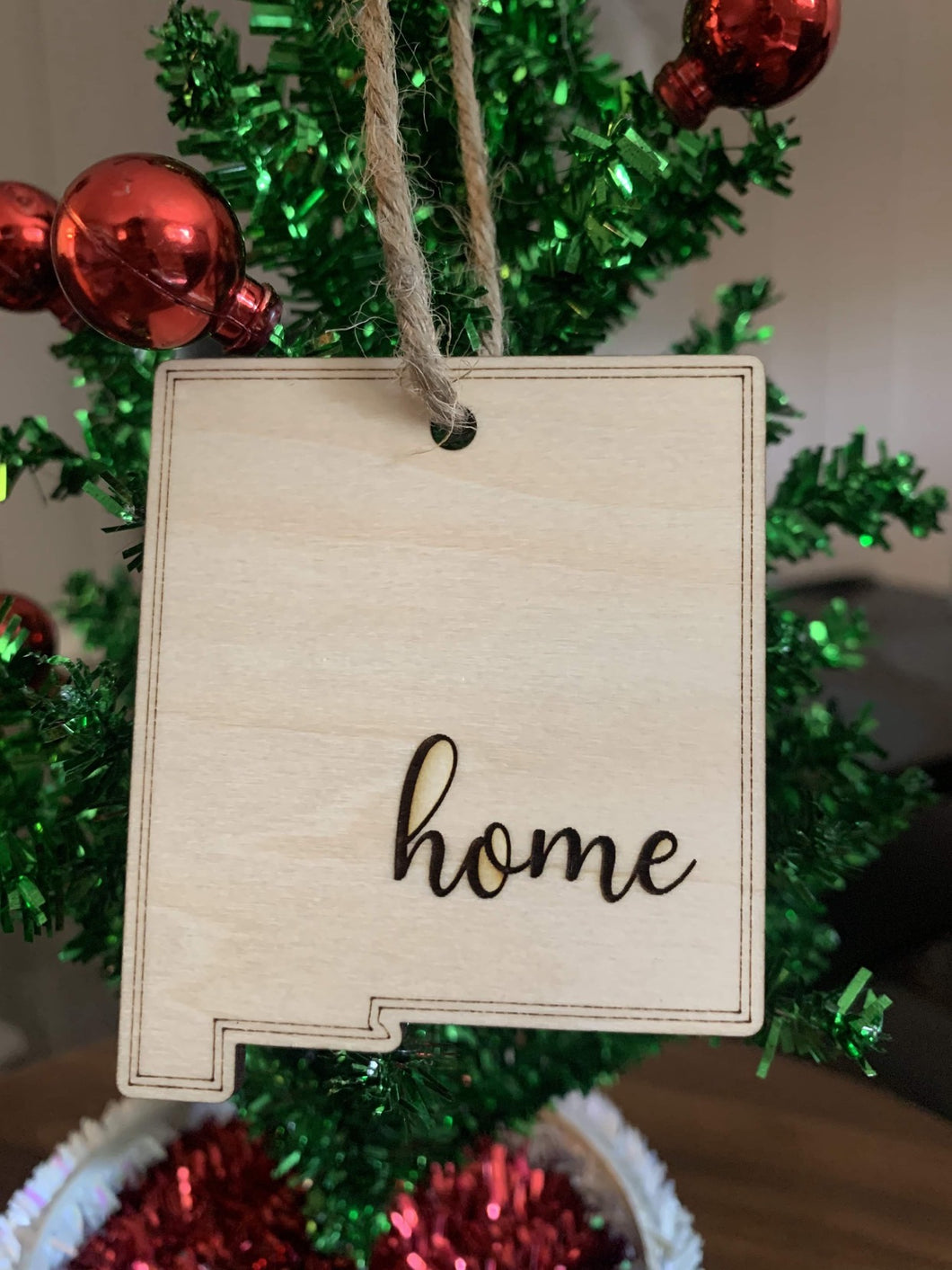 Home for the Holidays - New Mexico Ornament