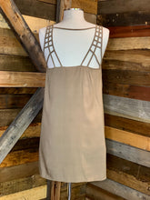 Load image into Gallery viewer, Taupe Ladder Back Dress
