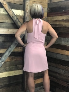 Peek A Boo Dress - Black or Pink