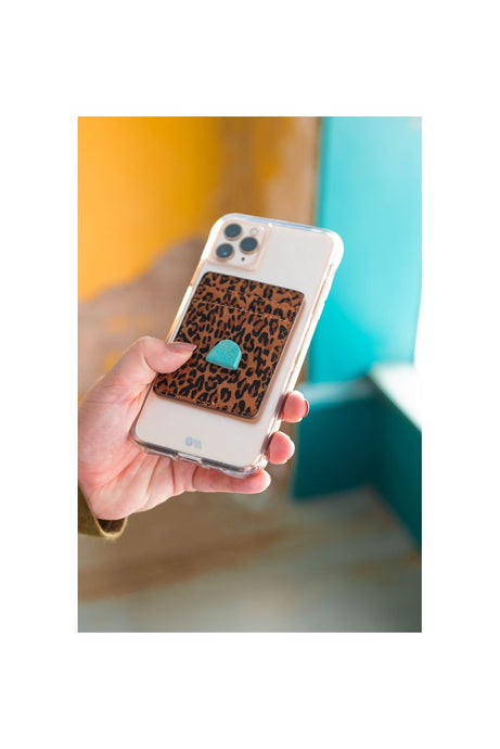 Cheetah / Turq Phone Wallet