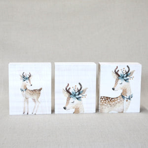 Decor Blocks - Baby Reindeer
