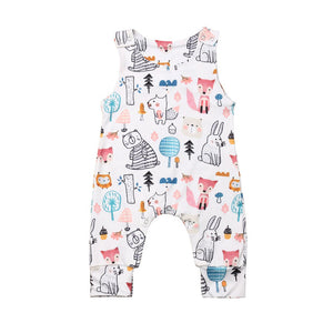 Woodland Animal Romper