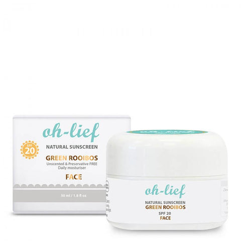 Oh-lief Natural Sunscreen Daily Face - 50ml