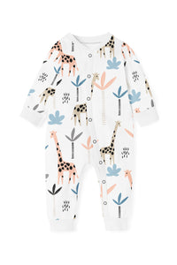 Giraffe Zippy Romper (closed feet)