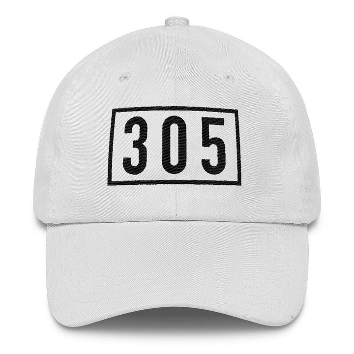 305 Classic White Cap - 305 Clothing Co.