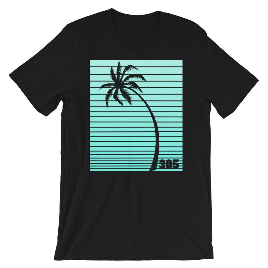 305 Palm Tree Neon T-Shirt - 305 Clothing Co.