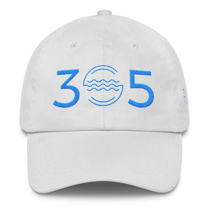 305 Waves Aqua Classic Dad Cap - 305 Clothing Co.