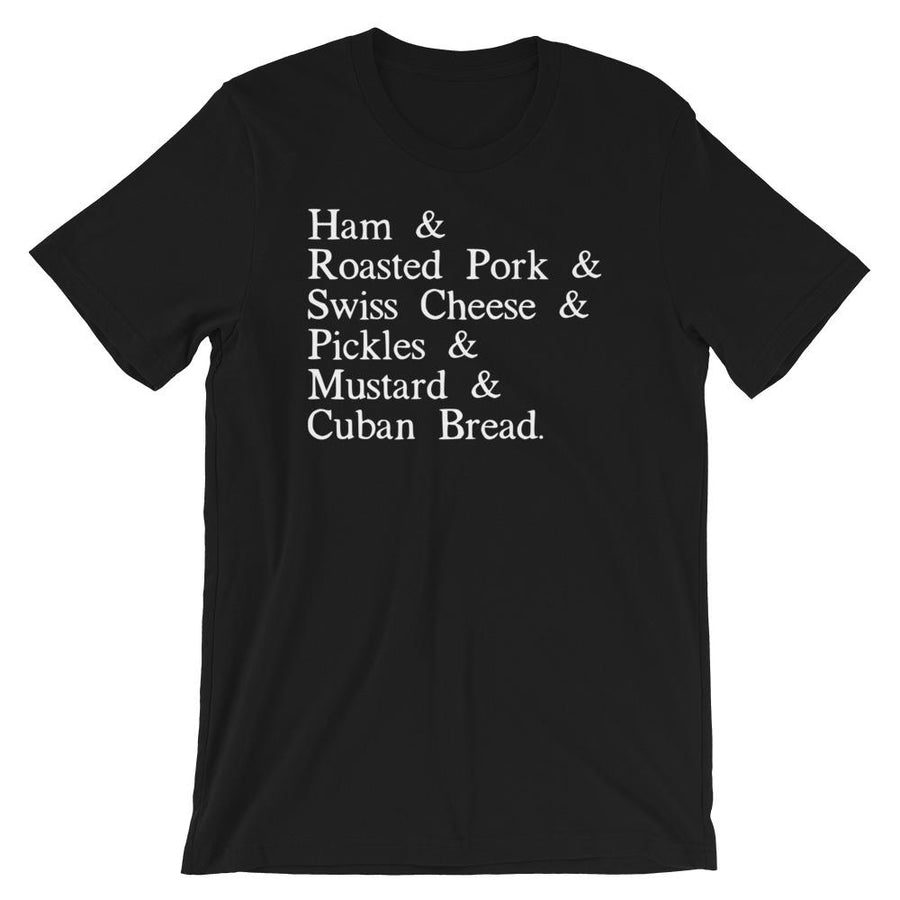 Cubano Recipe T-Shirt - 305 Clothing Co.