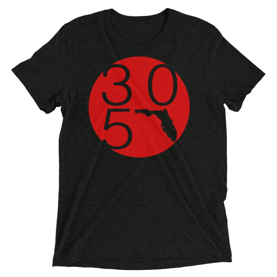 Florida 305 Circle Premium Tri-Blend T-Shirt - 305 Clothing Co.