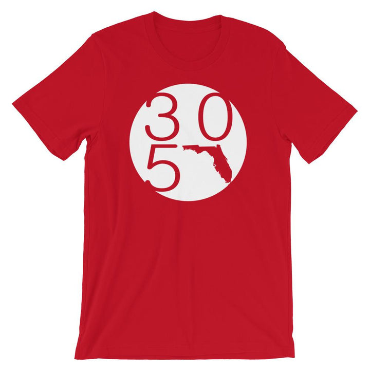 Florida 305 Circle T-Shirt - 305 Clothing Co.