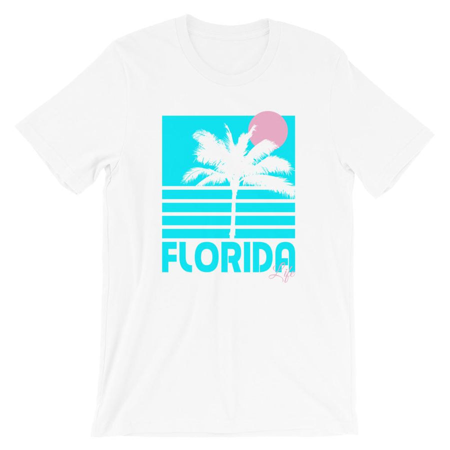 Florida Life Tropical T-Shirt - 305 Clothing Co.