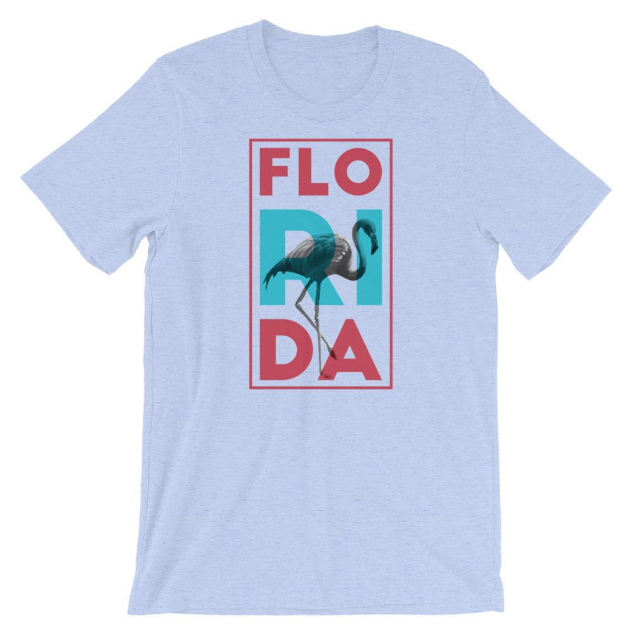 Florida Neon Flamingo T-Shirt - 305 Clothing Co.