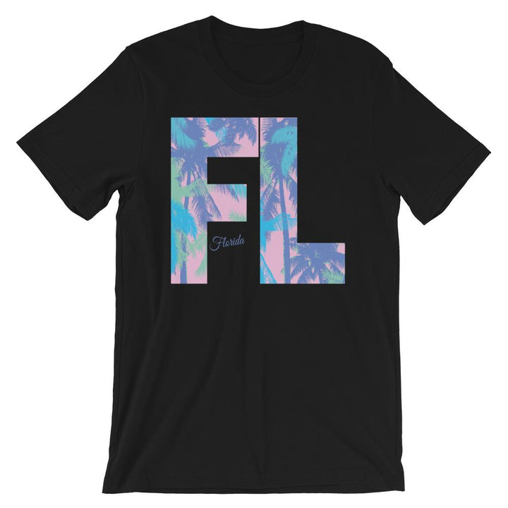 Florida Neon Palms T-Shirt - 305 Clothing Co.