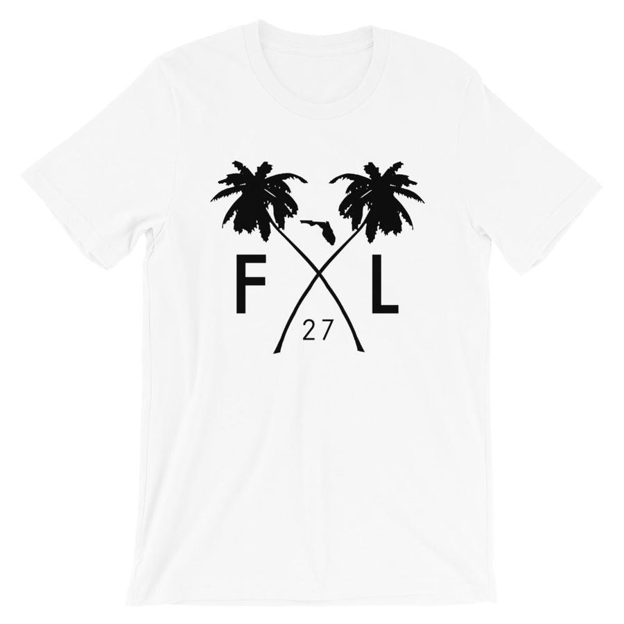 Florida Palm State 27 T-Shirt - 305 Clothing Co.