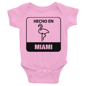 Hecho En Miami Infant Bodysuit - 305 Clothing Co.