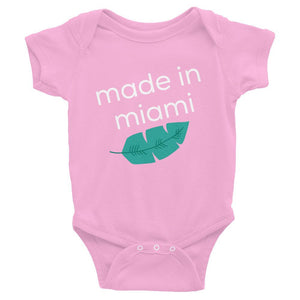 Made In Miami Tropical Infant Onesie - 305 Clothing Co.