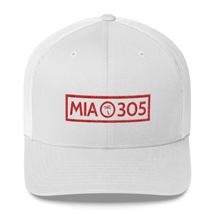 MIA 305 Trucker Cap - 305 Clothing Co.