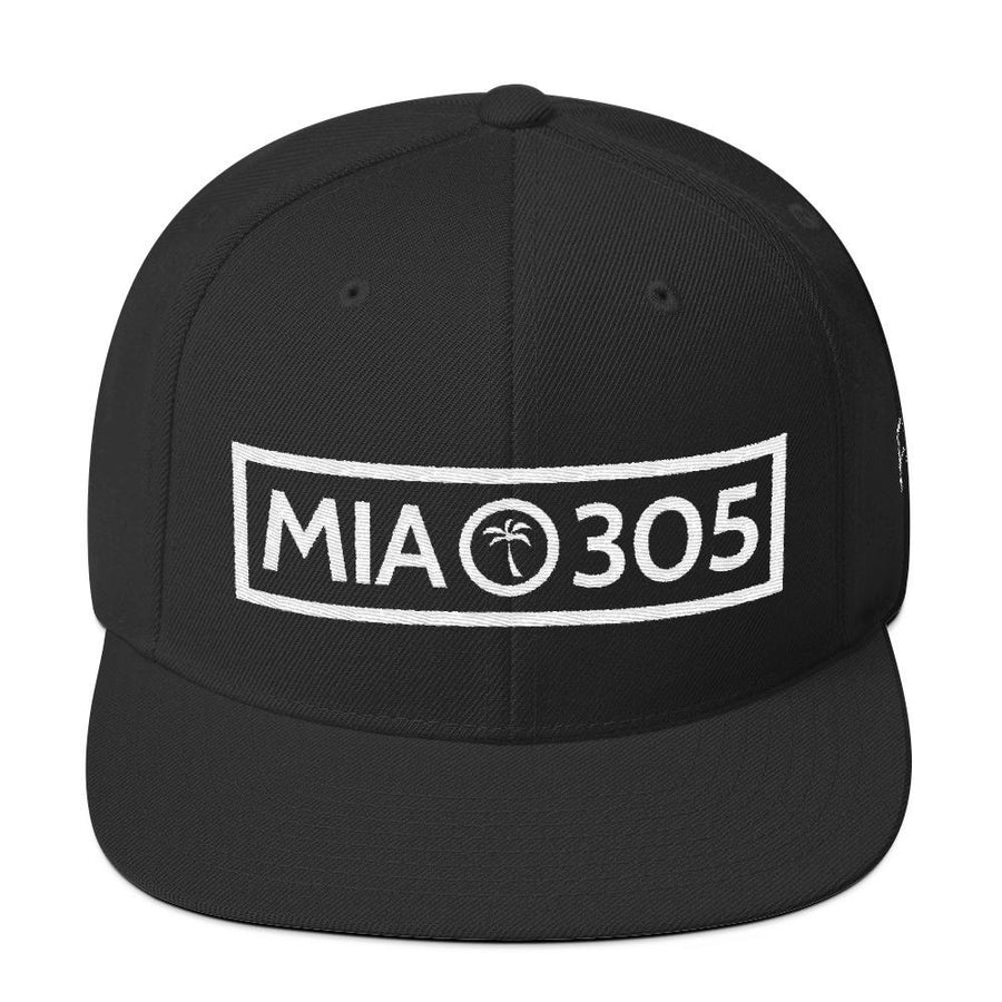 MIA 305 White Wool Blend Snapback - 305 Clothing Co.
