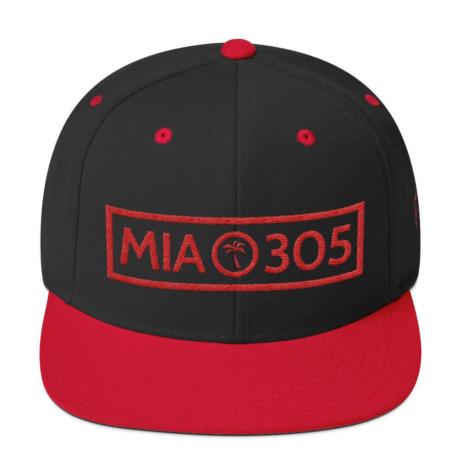 MIA 305 Wool Blend Snapback - 305 Clothing Co.