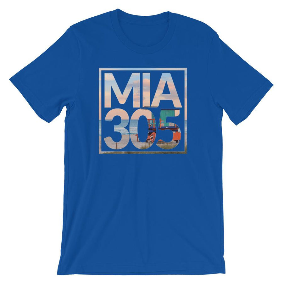 Miami 305 Beach Fade T-Shirt - 305 Clothing Co.