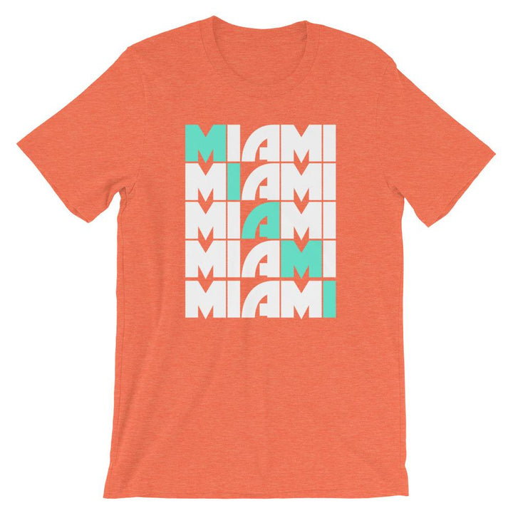 Miami Grid Fins T-Shirt - 305 Clothing Co.