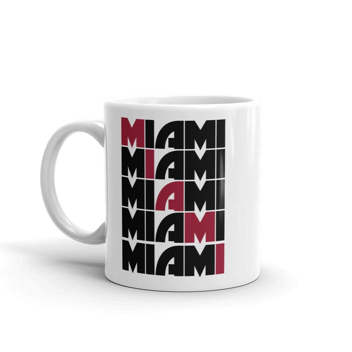 Miami Grid Heat Mug - 305 Clothing Co.