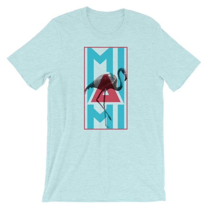 Miami Neon Flamingo T-Shirt - 305 Clothing Co.