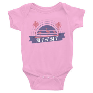 Miami Tropical Neon Infant Onesie - 305 Clothing Co.