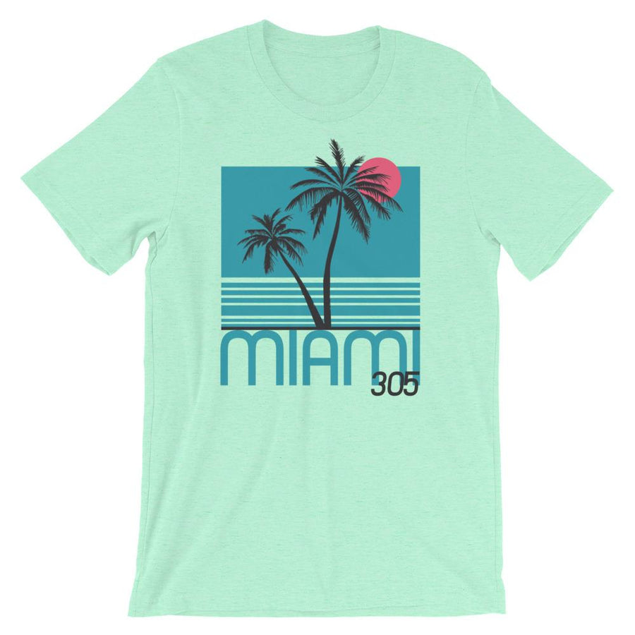 Miami Tropical Nights T-Shirt - 305 Clothing Co.