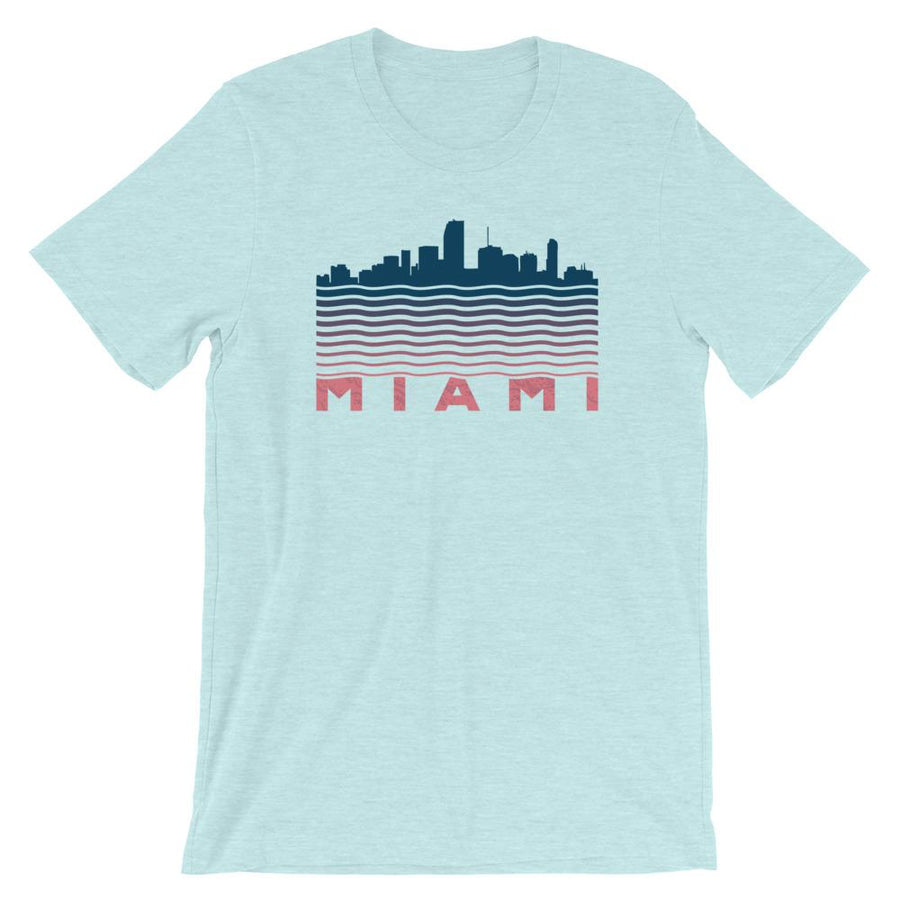 Miami Waves Skyline T-Shirt - 305 Clothing Co.
