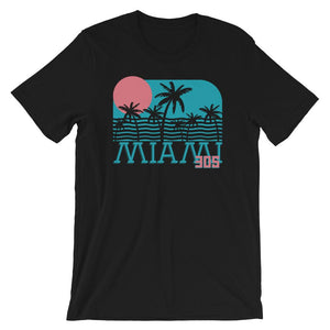 Neon Miami Nights T-Shirt - 305 Clothing Co.