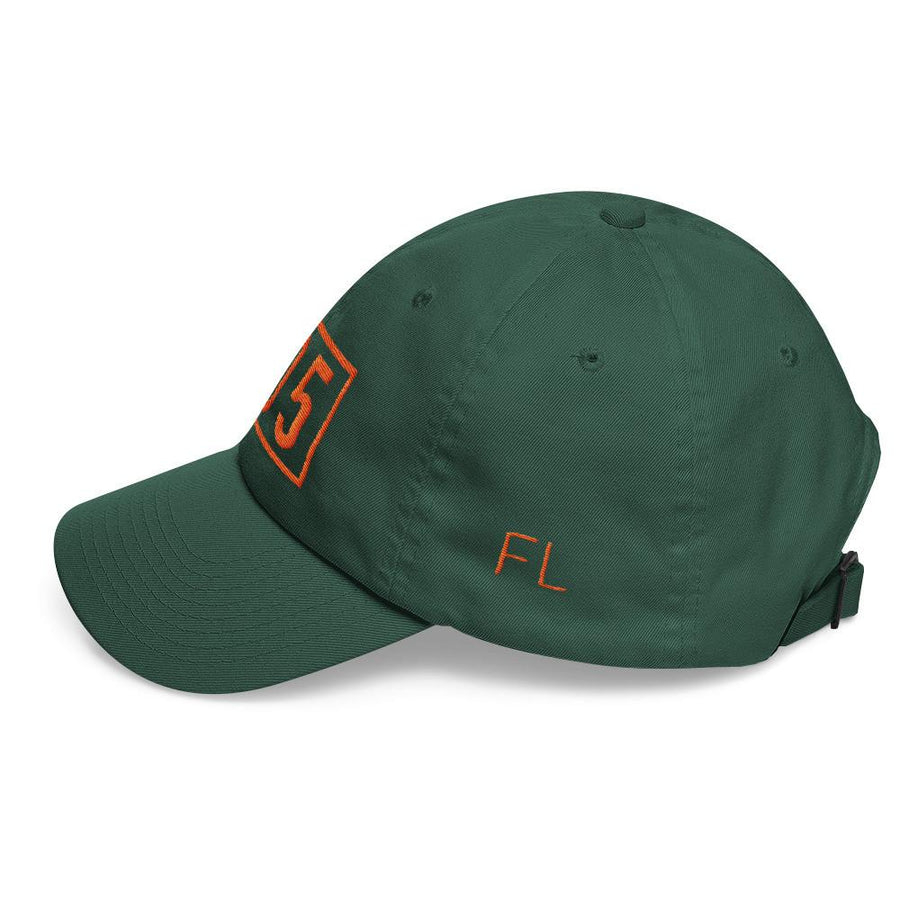 Orange & Green Classic Dad Cap - 305 Clothing Co.