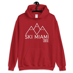 Ski Miami Hooded Sweatshirt - 305 Clothing Co.