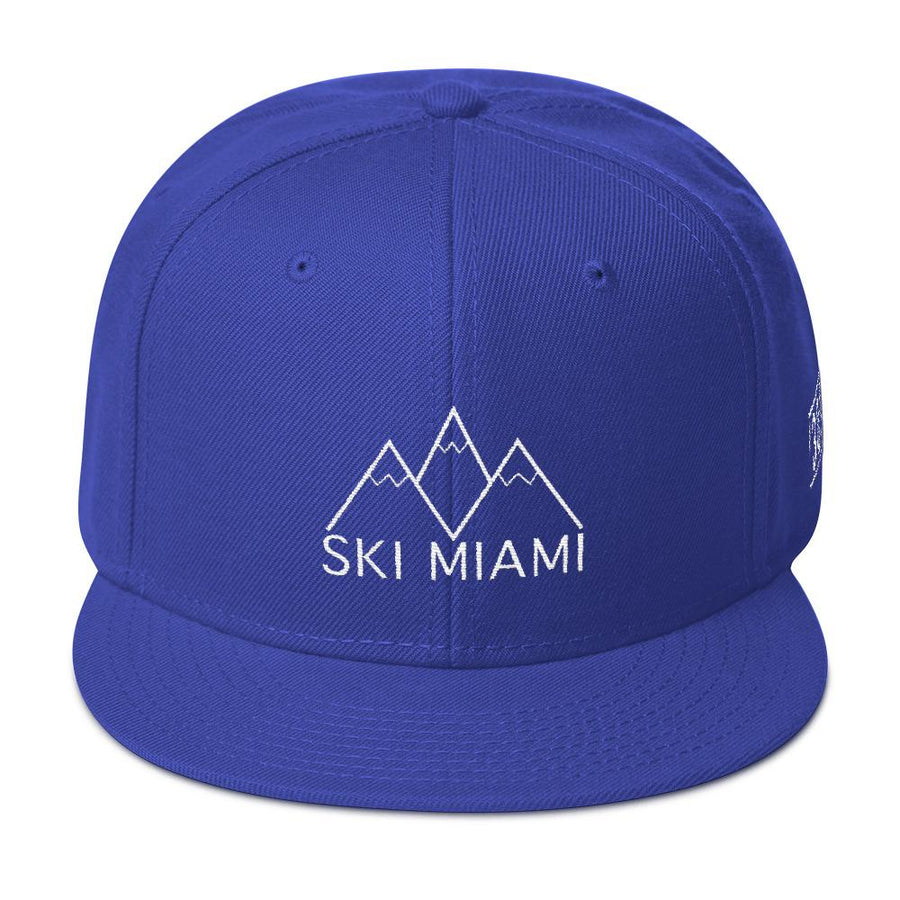 Ski Miami Snapback Hat - 305 Clothing Co.