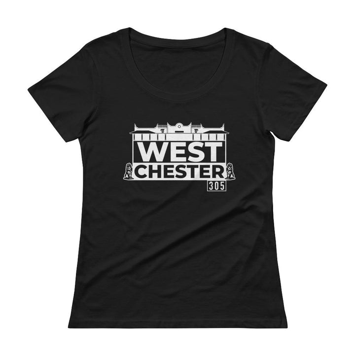Westchester Miami Mi Barrio Ladies' Scoopneck T-Shirt - 305 Clothing Co.