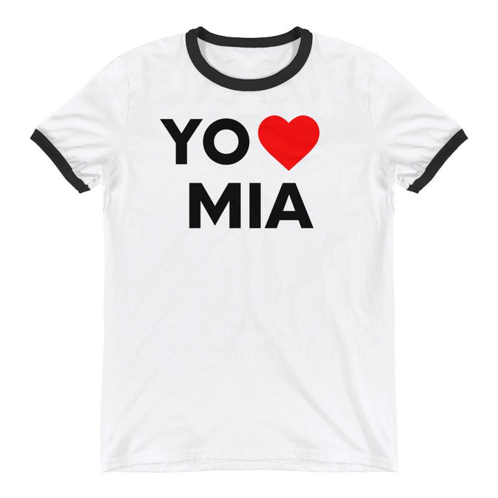 Yo Ami Miami Classic 80s Ringer T-Shirt - 305 Clothing Co.