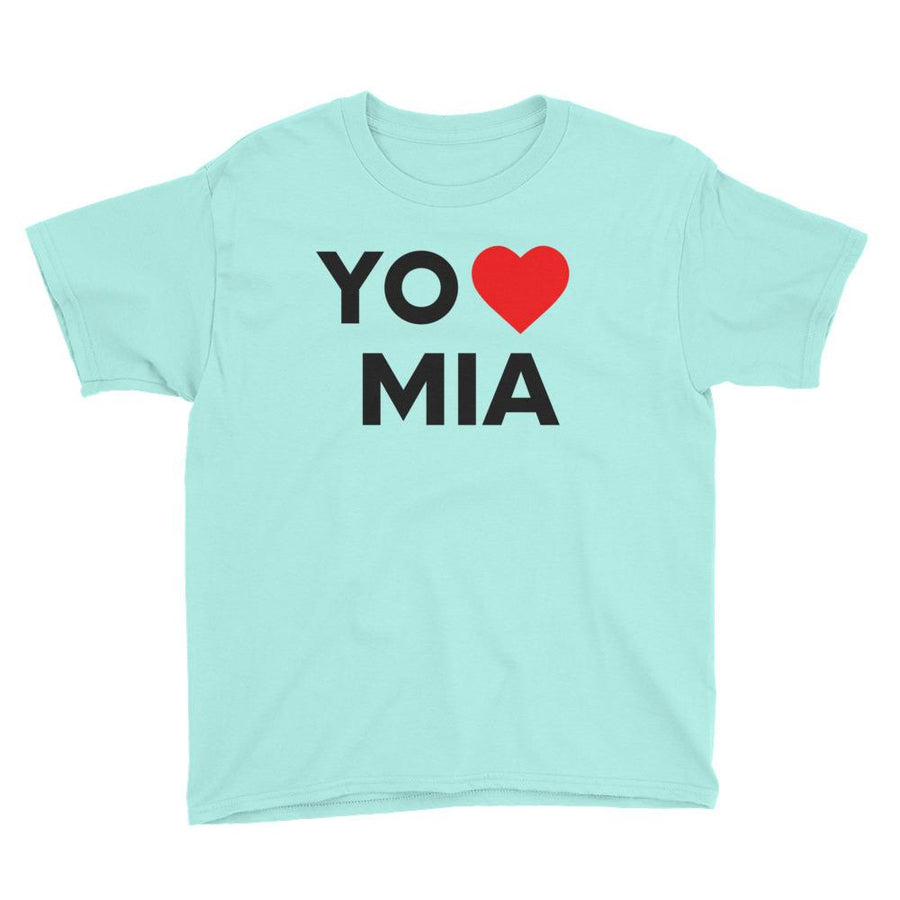 Yo Amo Miami Youth Short Sleeve T-Shirt - 305 Clothing Co.