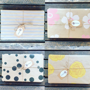 **New** Choice of Gift Wrap with all Gift sets and Hampers