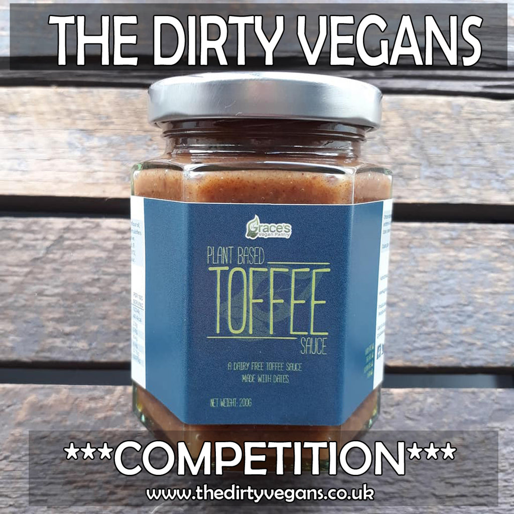 VEGAN COMPETITION*** TOFFEE SAUCE