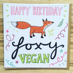vegan birthday card