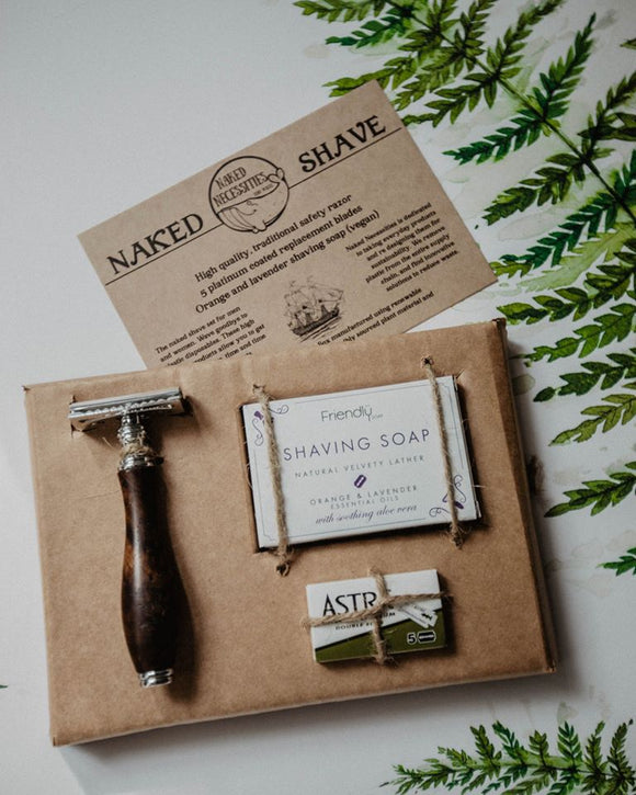 vegan shaving kit