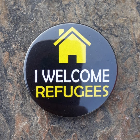 i welcome refugees
