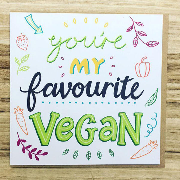 vegan birthday cards