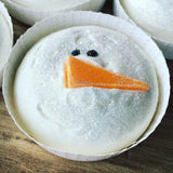 Floating Snowman Vegan Creamy Bath Melt 70g