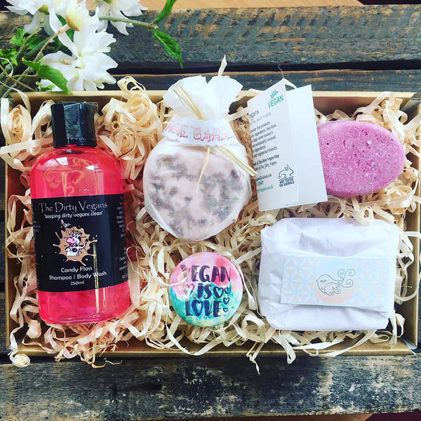 vegan gift set for her
