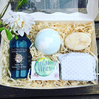 vegan gift hamper for men
